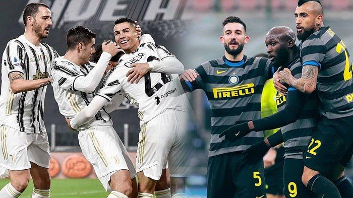 Prediksi Semifinal Coppa Italia Rabu 10 Februari 2021, Juventus vs Inter Milan, Siapa Masuk Final?