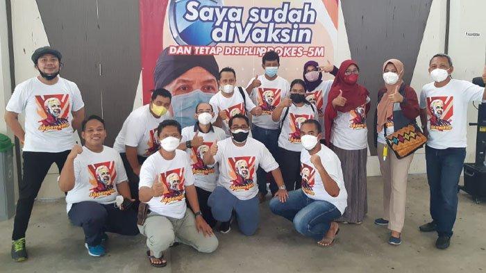 Kagama Indobizz Gadeng RSAD dr. Hardjanto Balikpapan Gelar Vaksinasi Massal, Diikuti 350 Orang