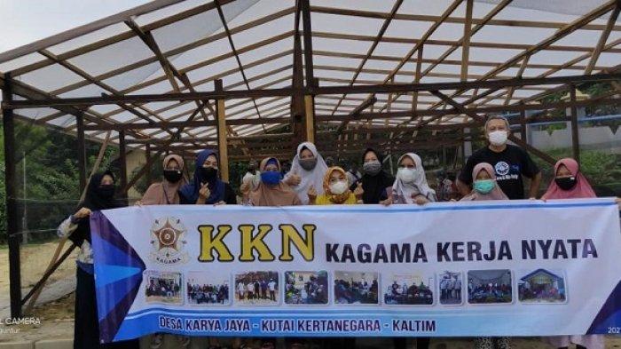 Kagama Kerja Nyata di Desa Karya Jaya, Kabupaten Kutai Kartanegara, Merintis Budidaya Buah Anggur
