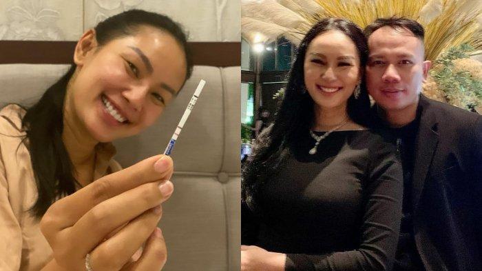 Masih Tak Percaya Hamil Anak Vicky Prasetyo, Kalina Ocktaranny Sampai Test Pack 4 Kali