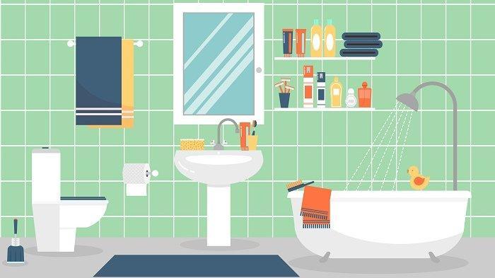 Konsep Kamar Mandi Minimalis nan Indah di Rumah Anda, Wajib Dilengkapi dengan 4 Barang Ini