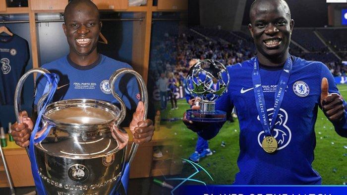Kante jadi Kunci Sukses Chelsea Juara Liga Champions, Disebut Layak Dapat Gelar Pemain Terbaik Dunia