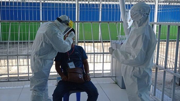 Kantor Kesehatan Pelabuhan Tunon Taka Nunukan Dapati 50 WNI Stranded dari Malaysia Tanpa Swab PCR