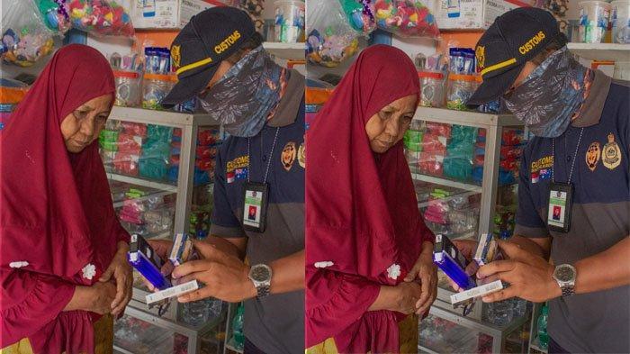 Sejak Januari Hingga 15 Juli 2021, Belasan Ribu Batang Rokok Ilegal Disita Petugas Bea Cukai Nunukan