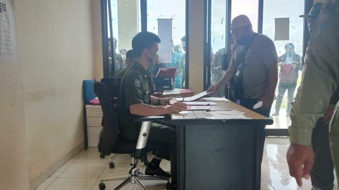 Jelang Pendaftaran Ditutup, Kantor Satpol PP & Damkar Malinau Diserbu Pelamar Pegawai Non-PNS