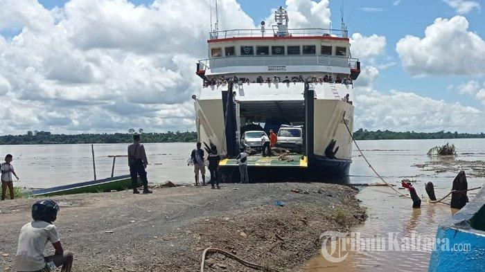 Jadwal dan Tarif Kapal Feri di Kalimantan Utara, Rute Tana Tidung ke Tarakan Senin 27 September 2021