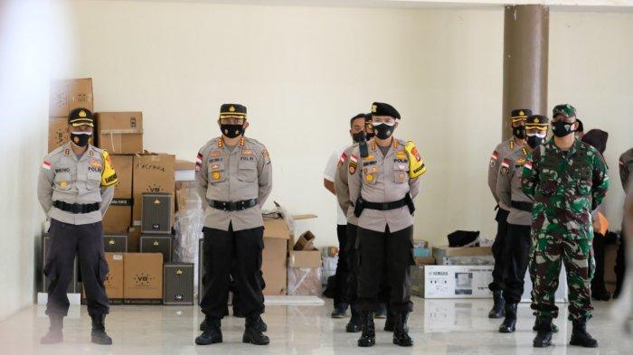 Gelar Operasi Ketupat Kayan 2021, Kapolda Kaltara Minta Anggota Fokuskan Pengawasan Pos Perbatasan