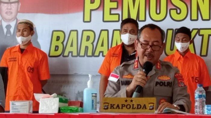 Ditanya Hukuman untuk Tersangka Kasus Sabu 126 Kg, Ini Jawaban Kapolda Kaltara Irjen Pol Bambang