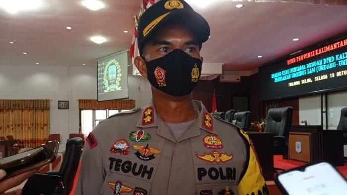 Kapolres Bulungan AKBP Teguh Ungkap 5 Polisi Positif Covid-19 Punya Riwayat Perjalanan ke Balikpapan