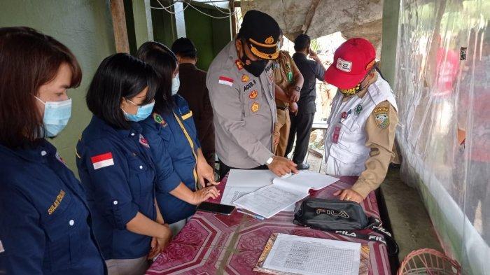 Ratusan Pelaku Perjalanan dari Kaltim Masuk Malinau, Petugas Data Identitas dan Minta Hasil Rapid