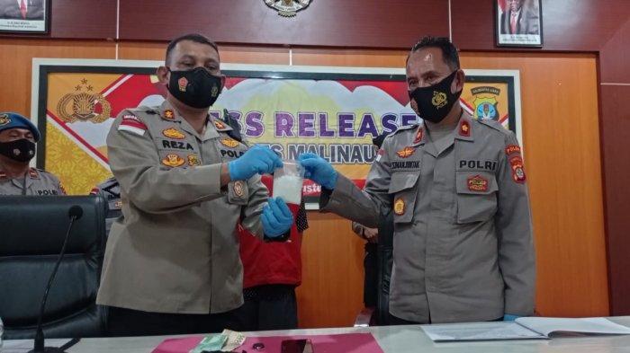 Dalam Sebulan Polres Malinau Gagalkan 2 Transaksi Sabu, Waspadai Peredaran Narkoba Lintas Kabupaten