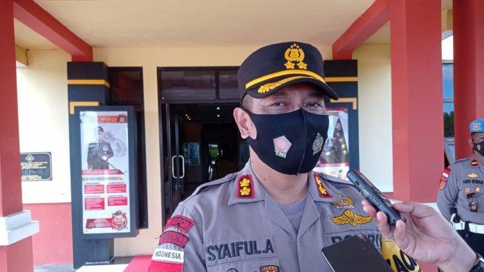 Oknum Polisi Diduga Terlibat Edarkan Sabu, Kapolres Nunukan Syaiful: Hanya Satu Jatahnya Dipidanakan