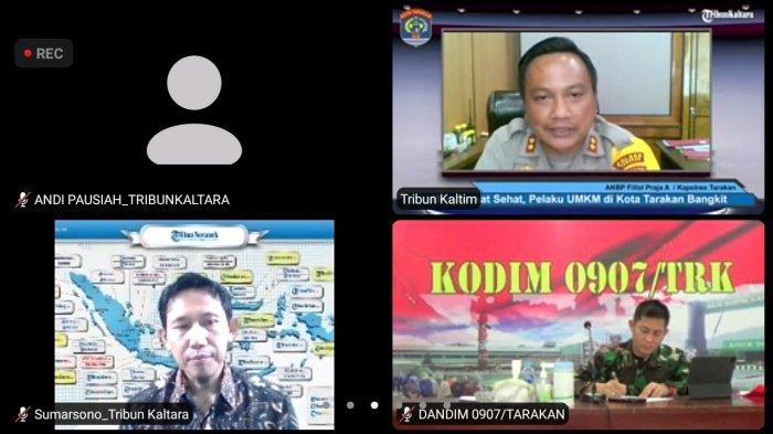 Talkshow Tribun Kaltara Series: Masyarakat Sehat, Pelaku UMKM di Kota Tarakan Bangkit, Ini Hasilnya