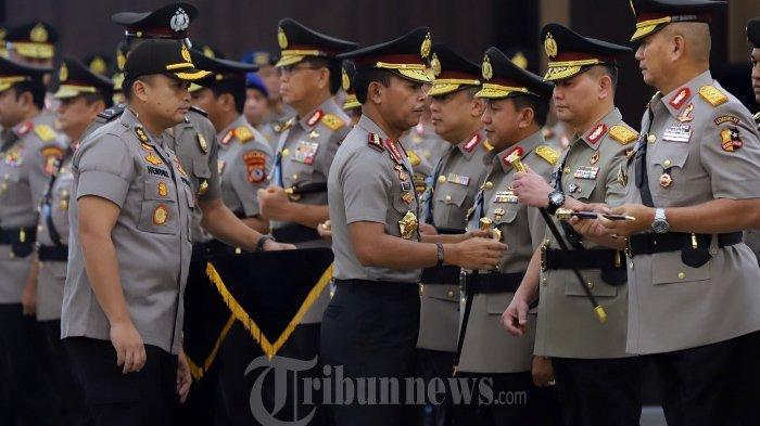 Daftar Mutasi Besar-besaran Personel Polri, 2 Bulan Jelang Kapolri Jenderal Idham Azis Pensiun