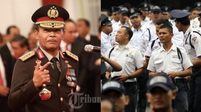 Instruksi Kapolri Jenderal Idham Azis, Minta Satpam Pakai Seragam Warna Coklat Mirip Polisi