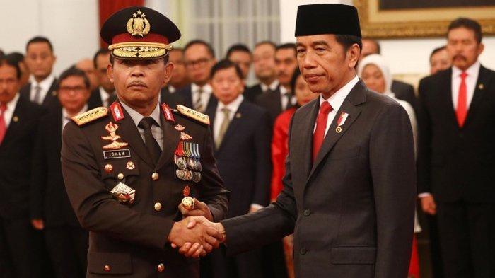 Sikap Kapolri Jenderal Idham Azis ke Presiden Jokowi Jelang Pensiun Dipuji Politisi PDIP Gegara Ini