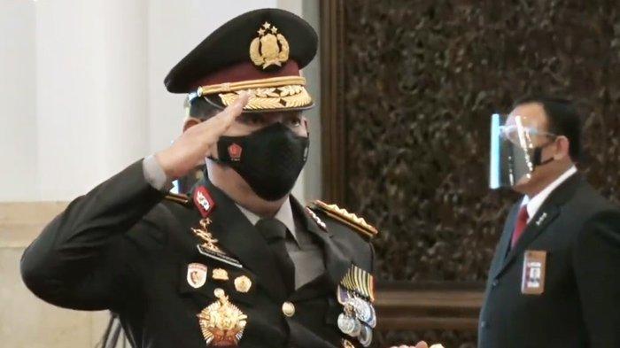 Dilantik Jokowi Jadi Kapolri ke-25 Gantikan Idham Azis, Ini Sederet Janji Jenderal Listyo Sigit