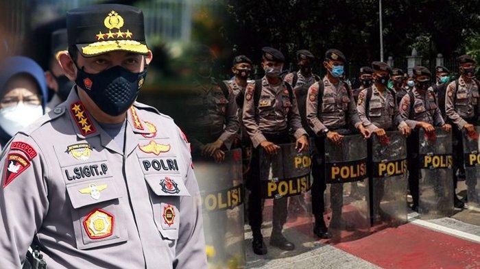 Reaksi Tak Terduga Kapolri Jenderal Listyo Sigit saat Polisi Banyak Ketahuan Melanggar Disiplin