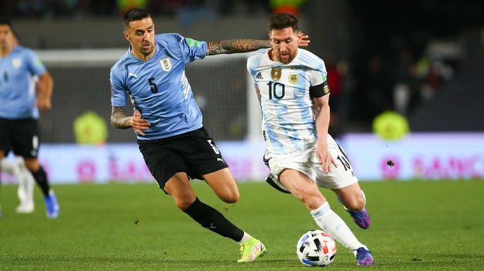 Lionel Messi Cetak Gol, Argentina Hajar Uruguay di Kualifikasi Piala Dunia, Luis Suarez Cs Merana