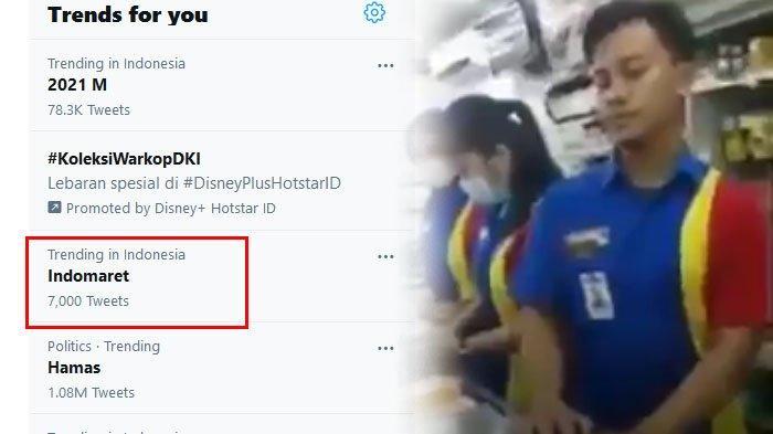 Indomaret Viral di Twitter, Kasir Tak Berkutik Dimarahi Seorang Pria Gegara Top Up Game Online