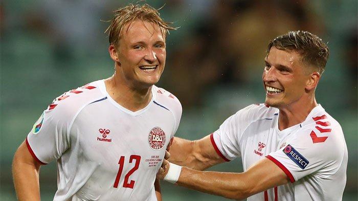 Tanpa Diperkuat Christian Eriksen, Denmark Berhasil Tembus Semifinal Euro 2020, Rep Ceko Gigit Jari