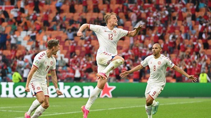 Hajar Wales 4-0, Denmark Lolos ke Perempat Final Euro 2020, Gareth Bale Cs Terpaksa Gigit Jari
