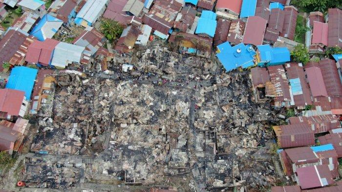 Update Kebakaran di Balikpapan, 31 Rumah Terbakar di 3 RT dan1 Orang Meninggal, Berikut Datanya