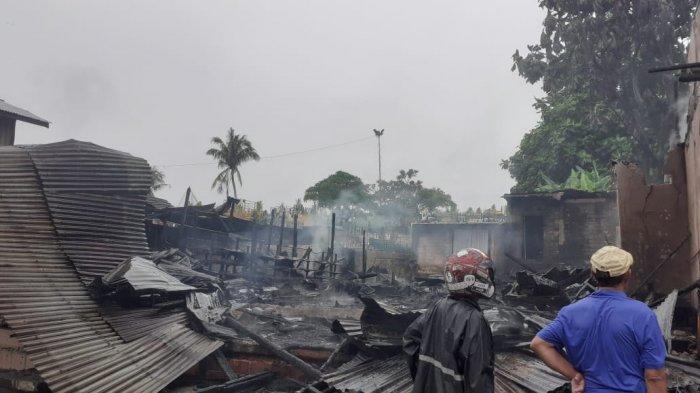 Lurah Selumit Mashuri Duga Kebakaran di Selumit Tarakan Karena Korsleting Listrik
