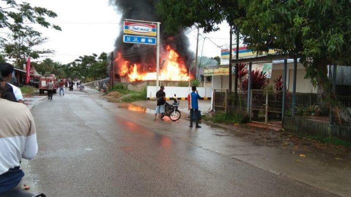 Jelang Lebaran, Rumah dan Motor Hangus Terbakar di Tenggarong, Berikut Kronologinya