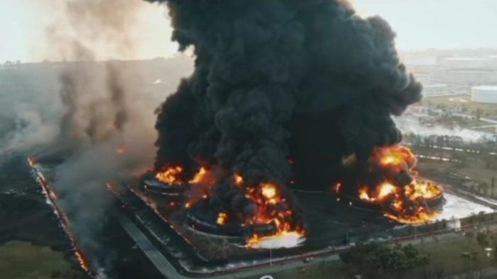 Masih Misterius, Apa Penyebab Kebakaran Kilang Minyak Milik Pertamina di Balongan Indramayu?