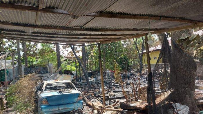 Hari Raya Idul Fitri 1442 Hijriah, Satu Rumah dan Mobil di Bontang Terbakar