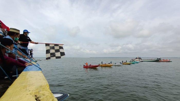 Ikut Meriahkan HUT Ke 9 Provinsi Kaltara di Tarakan, Balap Speedboat IPSS Race Boat Cup I Digelar