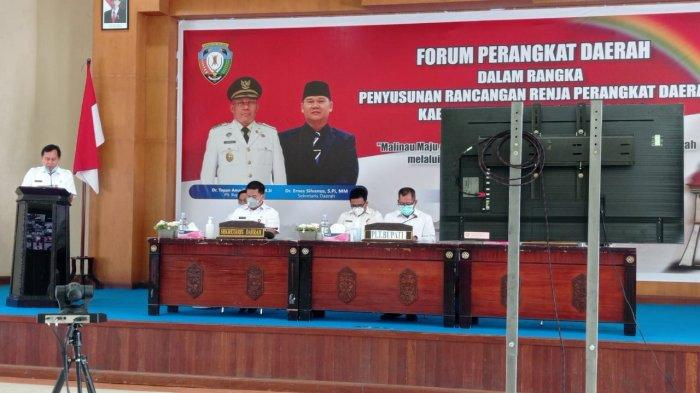 Selaraskan Prioritas Pemerintah Tahun 2022, Forum Renja Perangkat Daerah Malinau Dilaksanakan 3 Hari