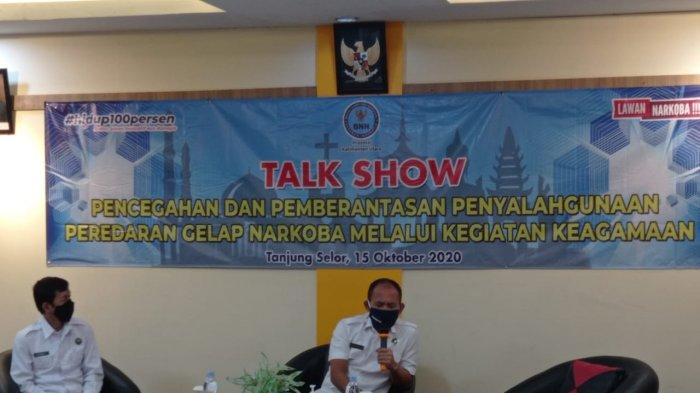 Kepala BNNP Kaltara Brigjen Pol Henry Simanjuntak Rangkul Tokoh Agama Cegah Peredaran Narkotika