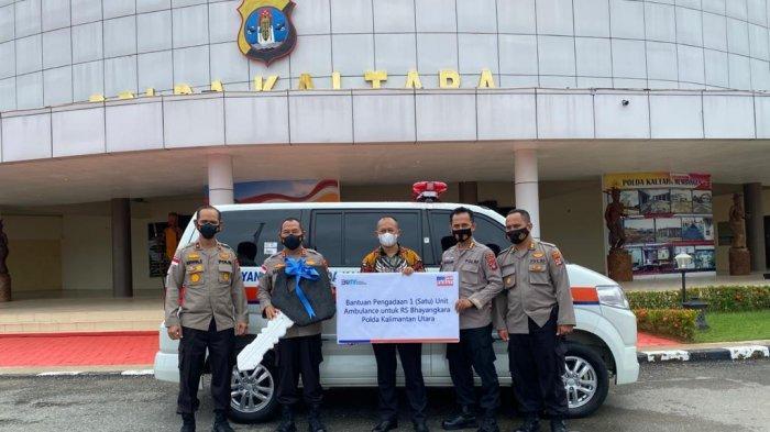 Tunaikan Program CSR, BRI Tanjung Selor Serahkan Ambulans ke Polda Kaltara dan Lakukan ini