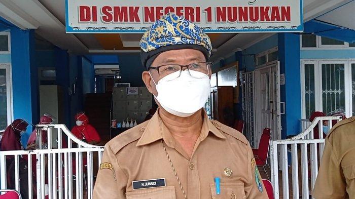 Kepala Dinas Pendidikan dan Kebudayaan Kabupaten Nunukan, Junaidi.