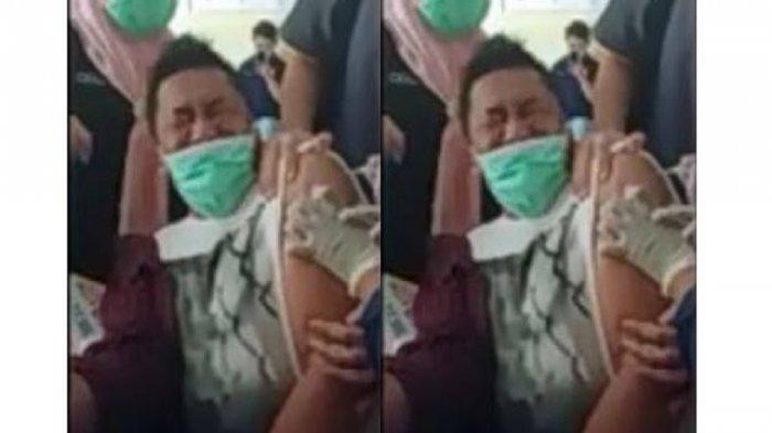 Viral Video Kepala Puskesmas di Gorontalo Menjerit Saat Vaksinasi Covid-19, Terkuak Fakta Sebenarnya