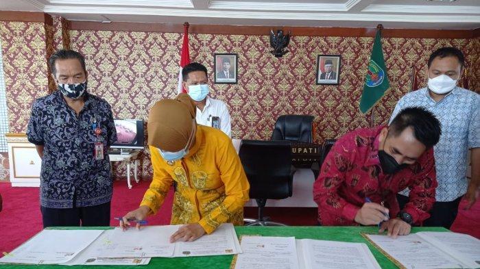 Jalan dan Irigasi Senilai Rp13 Miliar Diserahkan ke Pemkab Nunukan, Kementerian PUPR: Pelihara Baik