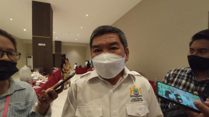 Ketua Kadin Kaltara, Kilit Laing ditemui di Hotel Luminor, Tanjung Selor ( TRIBUNKALTARA.COM / MAULANA ILHAMI FAWDI )