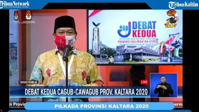 Ketua KPU Kaltara Harap Debat Publik Pilgub Kaltara Selanjutnya Tajamkan Visi dan Misi, Bukan Ini