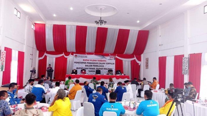 Rapat Penetapan Bupati Terpilih, Ketua KPU Malinau Lasinias Jamin Netralitas Penyelenggara Pilkada