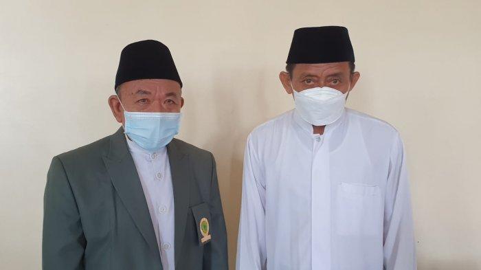 Ketua MUI Kalimantana Utara KH. Zainuddin Dalila saat di Temui Ruang Convention Hotel Grand Pangeran Khar Tanjung Selor Sabtu (18/09/2021).
