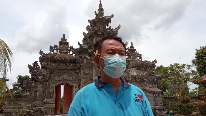 Jelang Hari Raya Nyepi, Umat Hindu di Tanjung Selor Laksanakan Bersih-bersih Pura Jagat Benuanta
