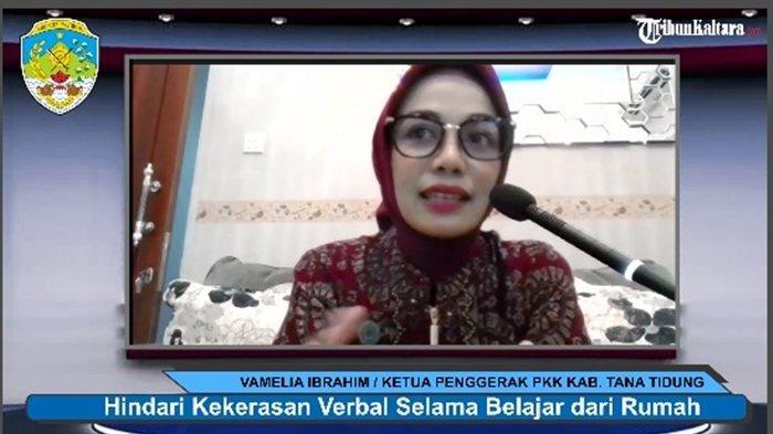 Ketua PKK KTT Vamelia Ibrahim Sebut Kekerasan Verbal jadi Tantangan Orangtua Dampingi Anak saat BDR