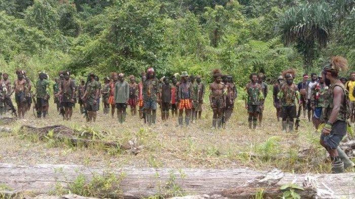 KKB Papua Kembali Berulah, 2 Jam Kontak Senjata di Distrik Ilaga, Diduga Anak Buah Lekagak Telenggen
