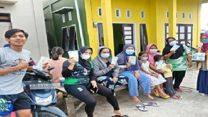 Mahasiswa Fakultas Kesehatan Masyarakat Universitas Mulawarman mengikuti Pengalaman Belajar Lapangan (PBL).
