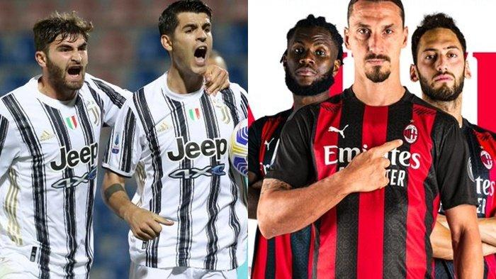 Klasemen Liga Italia, AC Milan Capolista Sempurna, Juventus Tertahan, AS Roma Dekati Inter Milan