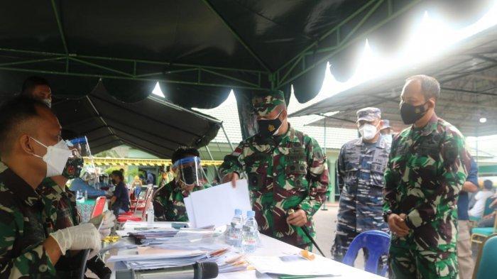vaksinasi masyarakat umum kembali digelar Kodim 0907 Tarakan, Minggu (18/7/2021).