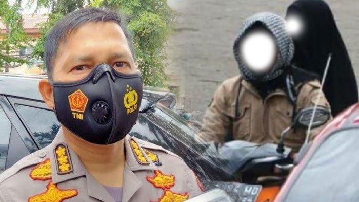 Beredar Foto Diduga Pelaku Bom Bunuh Diri di Makassar Naik Motor, Polisi: Saya Tidak Bisa Pastikan