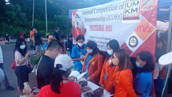 Kompetisi Kewirausahaan Mahasiswa Politeknik Malinau, Raup Keuntungan Manfaatkan Modal Terbatas